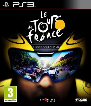 Le Tour De France - Season 2014 PS3 coverM (BLES02173)