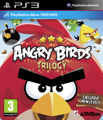 Angry Birds Trilogy PS3 coverM (BLES15617)