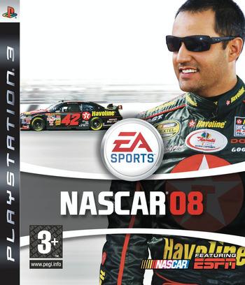NASCAR '08 PS3 coverM (BLES30040)