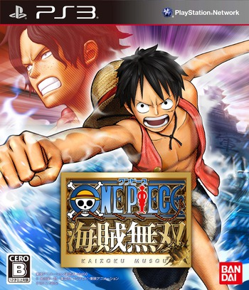 One Piece : Pirate Warriors PS3 coverM (BLJM60416)
