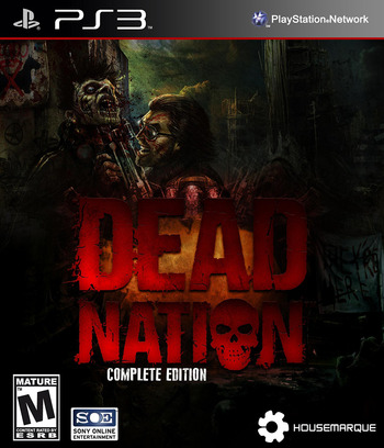 Dead Nation: Complete PS3 coverM (NPEA00143)