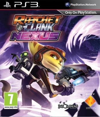 Ratchet & Clank: Into the Nexus PS3 coverM (XCES00008)