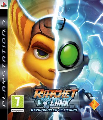 Ratchet & Clank: Atrapados en el Tiempo PS3 coverM (BCES00511)