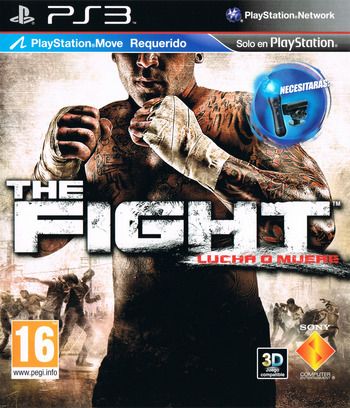 The Fight: Lucha o Muere PS3 coverM (BCES00874)