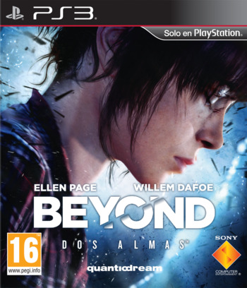Beyond: Dos Almas PS3 coverM (BCES01123)