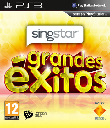 SingStar Grandes Éxitos PS3 coverM (BCES01258)