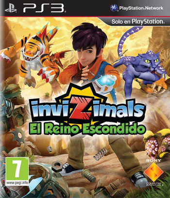 Invizimals: El Reino Escondido PS3 coverM (BCES01700)