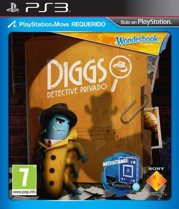 Wonderbook Diggs: Detective Privado PS3 coverM (BCES01725)