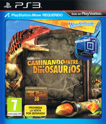 Wonderbook: Caminando entre Dinosaurios PS3 coverM (BCES01806)