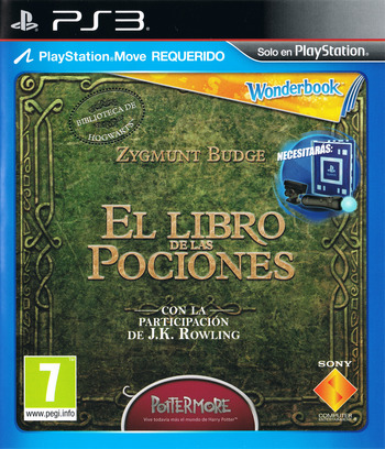 Wonderbook: El Libro de las Pociones PS3 coverM (BCES01866)