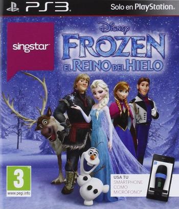 SingStar Frozen: El Reino del Hielo Array coverM (BCES02113)