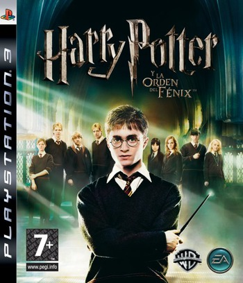 Harry Potter y la Orden del Fénix PS3 coverM (BLES00071)