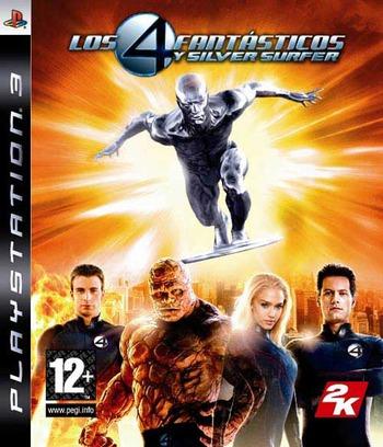 Los 4 Fantásticos y Silver Surfer PS3 coverM (BLES00075)
