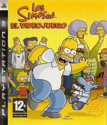 Los Simpsons: El Videojuego PS3 coverM (BLES00142)