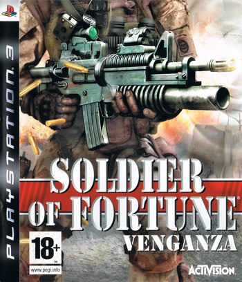 Soldier of Fortune: Venganza PS3 coverM (BLES00189)