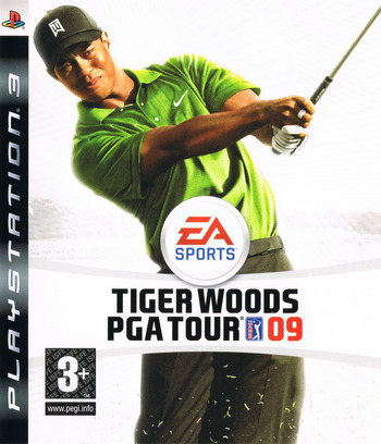 Tiger Woods PGA Tour 09 PS3 coverM (BLES00295)