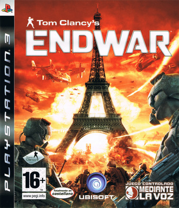 Tom Clancy's EndWar PS3 coverM (BLES00326)