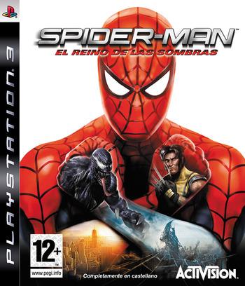 Spider-Man: El Reino de las Sombras PS3 coverM (BLES00392)