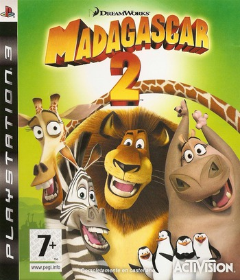 Madagascar 2 PS3 coverM (BLES00394)