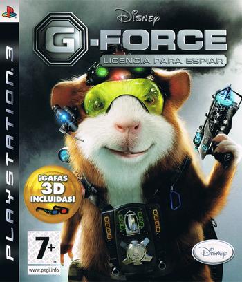 G-Force: Licencia para Espiar PS3 coverM (BLES00572)