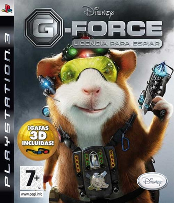 G-Force: Licencia para Espiar PS3 coverM (BLES00574)