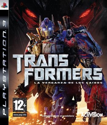 Transformers: La venganza de los caídos PS3 coverM (BLES00577)