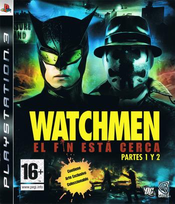 Watchmen: El Fin Está Cerca - Partes 1 y 2 PS3 coverM (BLES00605)