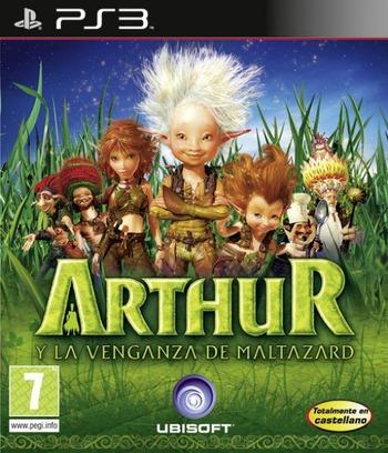 Arthur y la Venganza de Maltazard PS3 coverM (BLES00772)