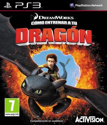 Cómo entrenar a tu Dragón PS3 coverM (BLES00798)