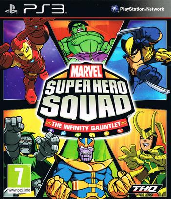 bles00895 marvel super hero squad: the infinity gauntlet