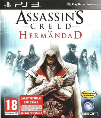 Assassin's Creed: La Hermandad PS3 coverM (BLES00909)