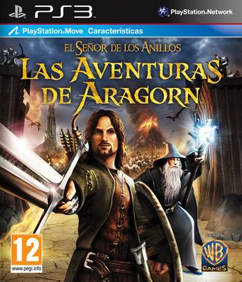 El Señor de los Anillos: Las Aventuras de Aragorn PS3 coverM (BLES00998)