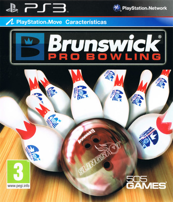 Brunswick Pro Bowling PS3 coverM (BLES01130)