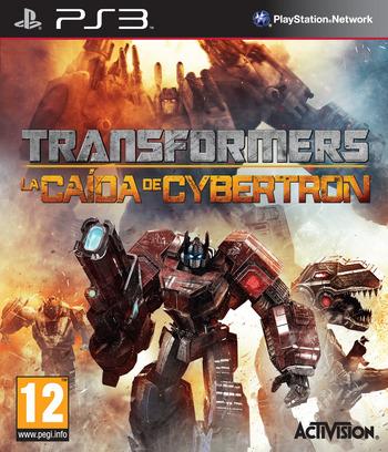 Transformers: La Caída de Cybertron PS3 coverM (BLES01153)