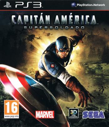 Capitán América: Super Soldado PS3 coverM (BLES01167)