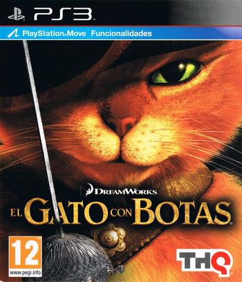 El Gato con Botas PS3 coverM (BLES01308)