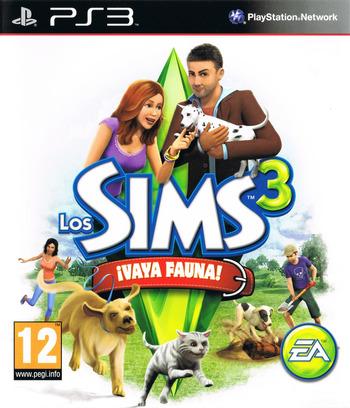 Los Sims 3: ¡Vaya Fauna! PS3 coverM (BLES01368)