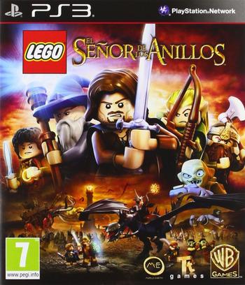 LEGO El Señor de los Anillos PS3 coverM (BLES01516)