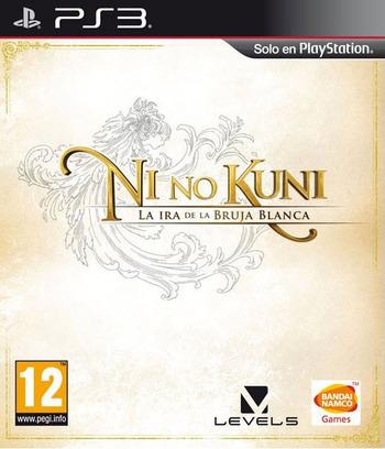Ni no Kuni: La Ira de la Bruja Blanca PS3 coverM (BLES01555)