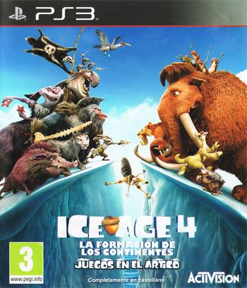 Ice Age 4: La Formación de los Continentes - Juegos en el Ártico PS3 coverM (BLES01686)