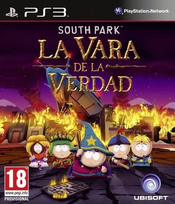 South Park: La Vara de la Verdad PS3 coverM (BLES01731)