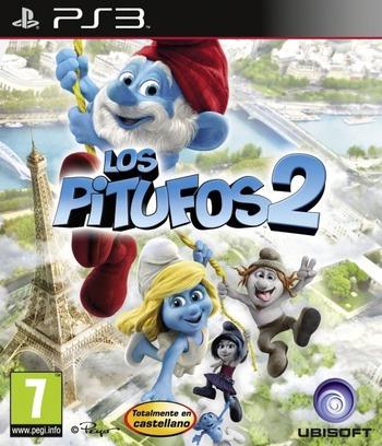 Los Pitufos 2 PS3 coverM (BLES01797)