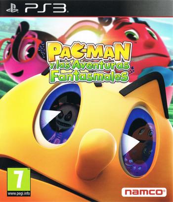 Pac-Man y las Aventuras Fantasmales PS3 coverM (BLES01901)