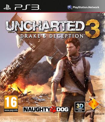 Uncharted 3:L'Illusion de Drake PS3 coverM (BCES01175)