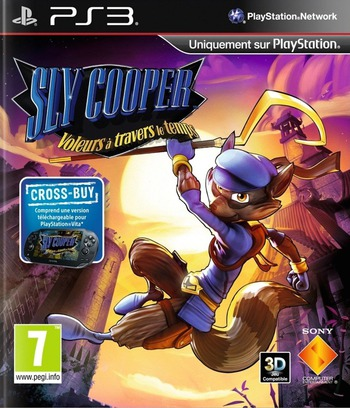 Sly Cooper: Voleurs á travers le temps PS3 coverM (BCES01284)