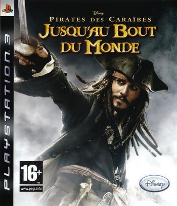 Pirates des Caraïbes:Jusqu'au Bout du Monde PS3 coverM (BLES00066)