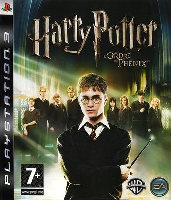 Harry Potter et l'Ordre du Phénix PS3 coverM (BLES00071)