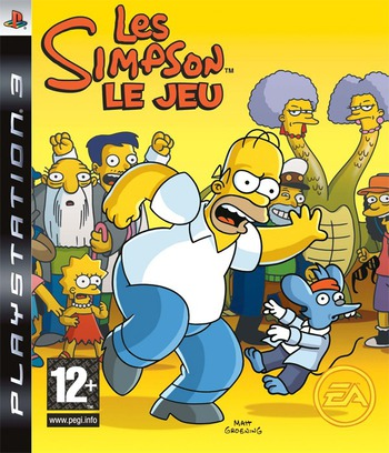 Les Simpson: Le Jeu Array coverM (BLES00142)
