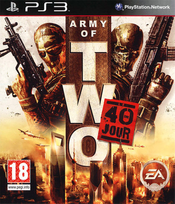 Army of Two : Le 40ème Jour PS3 coverM (BLES00659)