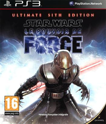 Star Wars:Le Pouvoir de la Force (Ultimate Sith Edition) PS3 coverM (BLES00678)